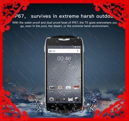 Doogee T5 4G Businessport Téléphone mobile 5 pouces Octa Core IP67 imperméable à l'eau 3GB RAM 32GB ROM Livraison gratuite dual t5 deals à partir de double t5 fournisseurs