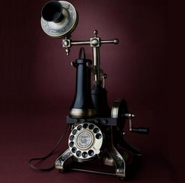 Wholesale HA1884 Paramount antique telephone vintage fashion rotating Dial numbers