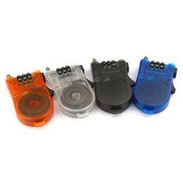 Acheter en ligne Mini-roches-Verrouillage du code du câble Verrou de 3 chiffres Cadenas de vélo Mot de passe Mini Verrouillage de sécurité IS0323