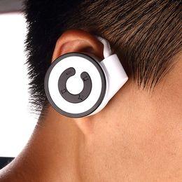 Carte intégrée en Ligne-Vente en gros-Nouvelle oreille de vente carte MP3 intégré oreille suspendu mini sports MP3 lecteur de musique en cours d'exécution C lecteur de carte MP3 lecteur MP3 Livraison gratuite