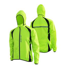 Promotion vélo vélo veste de manteau de pluie Vente en gros-UV Protéger respirant coupe-vent Veste de vélo de pluie Imperméable Vélo veste de pluie Vélo Vêtements de cyclisme chandails de coupe-vent