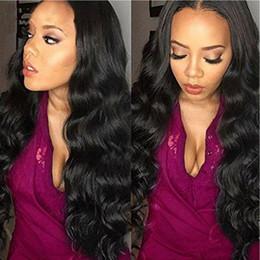 Brazilian Body Weave Natural Color (#1B) 100% Unprocessed Human Hair Extensions 3 Bundles Malaysian Peruvian Indian Hair