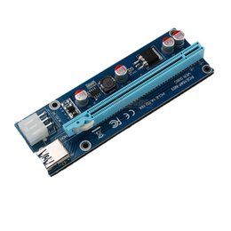 VER 006C USB 3.0 60CM PCIe PCI-E 1X to 16X Riser Card Extension Cable Adapter+USB 3.0 Cable SATA to 6Pin Power Cord for BTC Bitcoin Miner