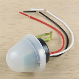 Wholesale Adjustable Auto Photo Control Sensor Light Switch Rainproof AC V A