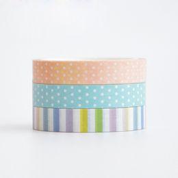 Wholesale Washi Tape Cartoon Decorative Washi Tape Diy Scrapbooking Masking Tape School Office Supply Escolar Papelaria cm cm