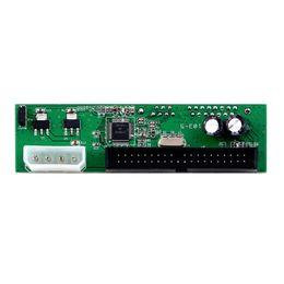 Pata ide dvd en Línea-JP103-5 PATA IDE A SATA Convertidor Adaptador Plug Play 7 + 15 Pin 3.5 / 2.5 SATA HDD DVD