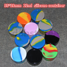 Wholesale Factory price ml non stick silicone dab container food grade silicone wax container custom silicone jars dab wax container