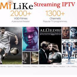 2000+ películas VOD Deportes árabes Sky IT UK DE QHDTV 1Year 1300+ Europa Streaming IPTV Cuenta Apk para Android mag250 / 254 Enigma2 m3u