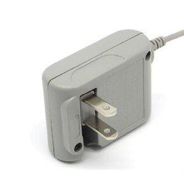 3ds chargeur dock en Ligne-Accueil Petite alimentation légère AC Source Adaptateur Home Wall Chargeur de Voyage US Plug Grey pour Nintendo pour NDSI XL / 3DS LL 100ps / lot