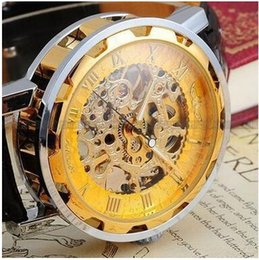 Winner Montre Homme Skeleton Automatique Mécanique Montre Gold Vintage Watchskeleton Montre Hommes Top Luxe vintage mens automatic watch for sale à partir de cru mens watch automatique fournisseurs