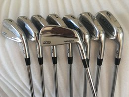 Golf MB Forged 718 Irons 3456789P With Dynamic Gold Steel R S 8PCS MB 718 Golf Clubs Irons Right hand