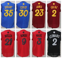 Wholesale 2016 Christmas Day Kevin Durant Jerseys Dwyane Wade Kyrie Irving Kawhi Leonard Kristaps Porzingis Ben Simmons