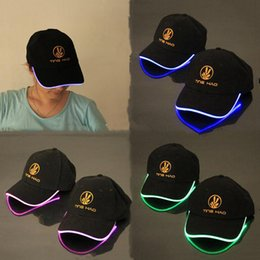 LED Light Hat LED Flash Hats Baseball Caps Light LED Hats Party Hats Boys Grils Cap Fashion Luminous Hat Ball Caps Hip-hop Hat Freeshipping