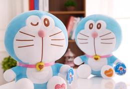 Wholesale 22 CYX duo una muñeca de ensueño doraemon gato felpa dora azul grasa almohada novia gift freddy toys minecraft