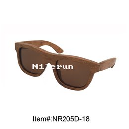 Special new material solid wood imitation carbonized bamboo sunglasses