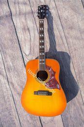 Wholesale Rhyme s custom guitar inch spruce panel veneer lientang plate sand Billy plywood rosewood fingerboard foundry neck label