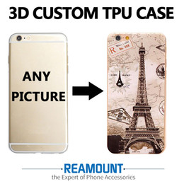 20 pcs  lot Custom design for embossing case for iPhone 7 7plus 6 6s plus DIY 3D case for iPhone 5 5s 6 6s back cover