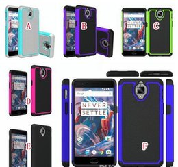 Oneplus 3 Case Armor Hybrid Hard PC Silicone Case Football Rugged Shockproof Dot Defender Camo For OnePlus 3 Cover
