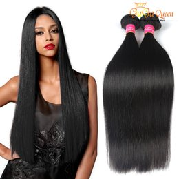 8A Peruvian Virgin Hair Straight Peruvian Human Hair Extensions 4Bundle Deals Peruvian Straight Hair Weave Wholesale Straight No Tangle