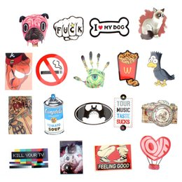 Argentina 50pcs Mixed Single Sticker Waterproof Home Decor Doodle Laptop Motocicleta Bike Travel Case Decal Accesorios para el coche CDE_00F Suministro