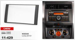 CARAV 11-429 CAR Radio installation dash install fitting trim kit for Right Wheel Only 2-DIN