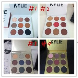 24pcsIn stock Christmas kylie holiday edition eyeshadow palette Kylie Gold Birthday Eyeshadow Burgundy Eyeshadow Gold Metal Matte lipstick
