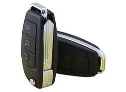 Acheter en ligne Mini-libre caméra cachée-DHL Free HD 1080P S820 caméra espion clé de voiture avec IR vision nocturne détection de mouvement Mini DV DVR pour Audi caméra cachée caméra vidéo enregistreur