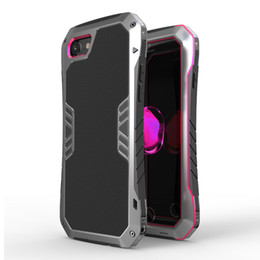 Metal Case Aluminum Dirt Shock Proof Mobile Cell Phone Cases Cover for iphone 7 6 plus 5 SE 5s Support Dropshipping