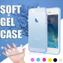 0.3MM Slim Ultra Thin Crystal Clear TPU Silicone Cover Case For iPhone 7 Plus 6 6S 5 5S SE Samsung S8 S7 edge Note 5 Free Shipping
