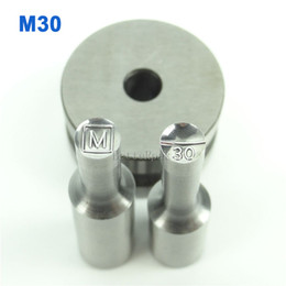 M30 6mm Stamp Circlar Round Die Mold Press Mold Punch Die Mould for Single Punch Press Machine TDP-0 1.5T 5T