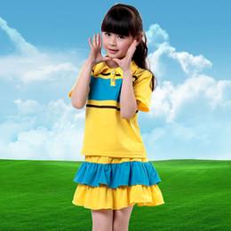 Wholesale New Children s Clothing Sportswear Children s Short Sleeve Clothing Children s Middle School Uniforms Free Shopping
