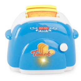 Wholesale Mini Simulation bread machine toy for kid lovely classic electric furniture toy the best gift for children