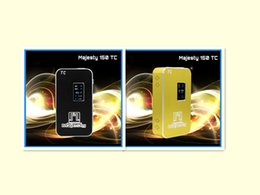 China manunfacture Cigarrillo electrónico E Cig150W-TC Batería 360g 150W 0.1ohm diseño Nuevo estilo Negro Oro producto vendible mejor desde nueva electrónica de china producto proveedores