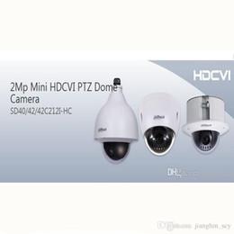 DAHUA IP66 (al aire libre), IK10, OSD 2Mp Mini HDCVI Cámara domo PTZ 1080P HDCVI 12X PTZ cámara DAHUA SD42C212I-HC desde ptz 12x proveedores