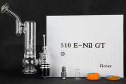 Wholesale Portable enail kit enail vaporizer G9 glassbong dry herb wax vaporizer quartz boiler detachable design