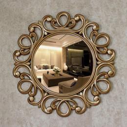 espejos decorativos para baos en de cm espejos retro decorativos de oro
