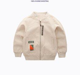 Wholesale Maddie s boy child baby bear spring coat spring jacket children s casual cardigan jacket New fashion trend