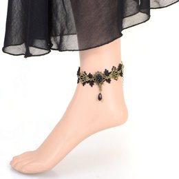 Fashion Lace European Special Wind Concise Anklet