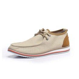 Caoutchouc respirante à vendre-Hot Sales Men Shoes en ligne 2016 Spring / Autumn Lace-up Low Style Fashion Couleurs mélangées Chaussures respirantes en caoutchouc masculin Chaussures décontractées