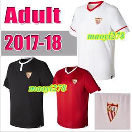 best quality 2017 2018 Sevilla soccer jersey 17 18 Sevilla shirt VITOLO NASRI VIETTO BEN YEDDER home away 3RD Football Jerseys shirt