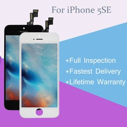 Top A+++ Premium Quality LCD Touch Screen Digitizer Replacement for iPhone 5S 5SE SE with Lifetime Warranty
