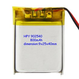 wholesale 3.7V 800mAh lithium polymer Battery For syma X5SC X5SW skytech M68 Hengai four drone aircraft 3.7 V 800 mAh Lipo battery 902540