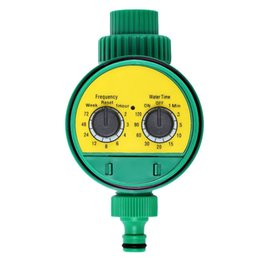 Wholesale valve part New Garden Tools LCD Home Digital Electronic Intelligence Water Timer Garden Irrigation Controller Water Programs System