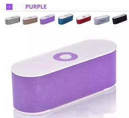 New 6 colors S207 Mini Bluetooth Speaker dual Speakers subwoofer Portable Wireless Sound Music Player Support TF Card USB for Phone PC