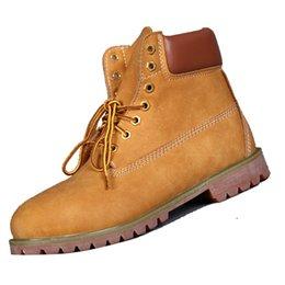 Élégant mode femmes Martin bottes plaine plein de grain en cuir imperméable chaussures classiques avec talon bas pour le printemps et l'automne 917130 à partir de chaussures simples talons fabricateur