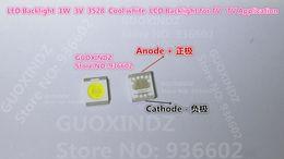 SEOUL High Power LED LED Backlight 1210 3528 2835 1W 100LM Cool white SBWVT120E LCD Backlight for TV TV Application