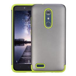 Pour ZTE ZMAX PRO Z981 Silicone Plastique Armor Housse de protection pour téléphone portable ZTE 981 TPU PC Heavy Duty Defender Hybrid Cell Phone Cases à partir de protection téléphone cellulaire fabricateur