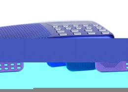 Скидка синяя панель Оптово-Мини Портативный аккумуляторная цифровой светодиодный дисплей панели стерео FM-радио спикер USB TF для SD Card MP3 плеер черный / синий / красный @