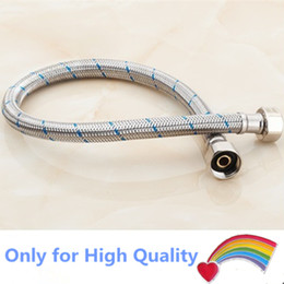 Hot water Heater part High Pressure Stainless Steel Water Connection Pipes for gas solar air electric Heater shower inlet and outlet hose