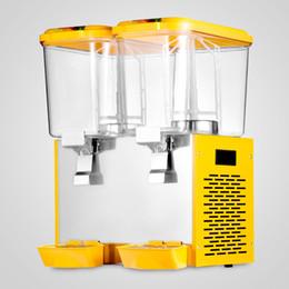 Wholesale 9 Gallon Cold Fruit Juice Beverage Ice Tea Dispenser L X Two Tanks